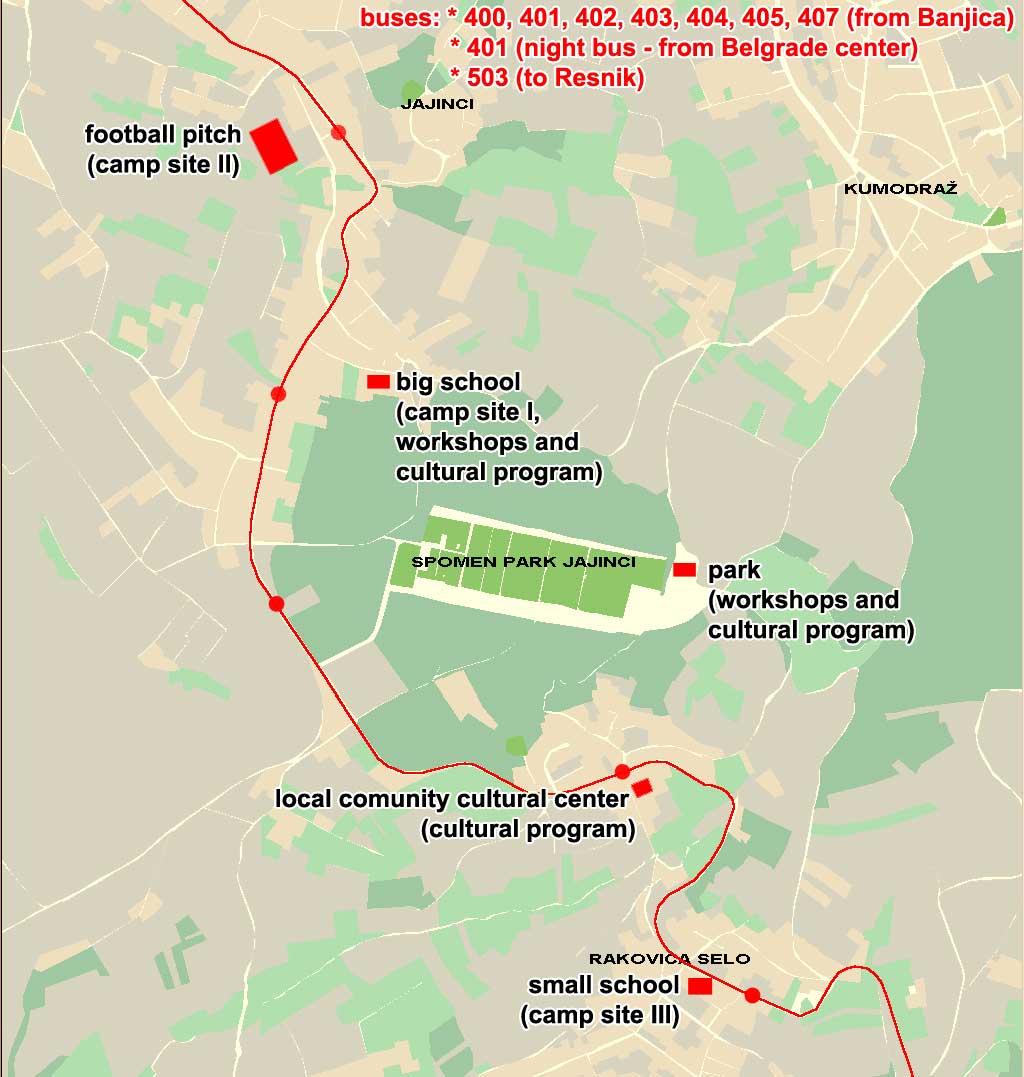 beograd jajinci mapa Info and map of Jajinci beograd jajinci mapa